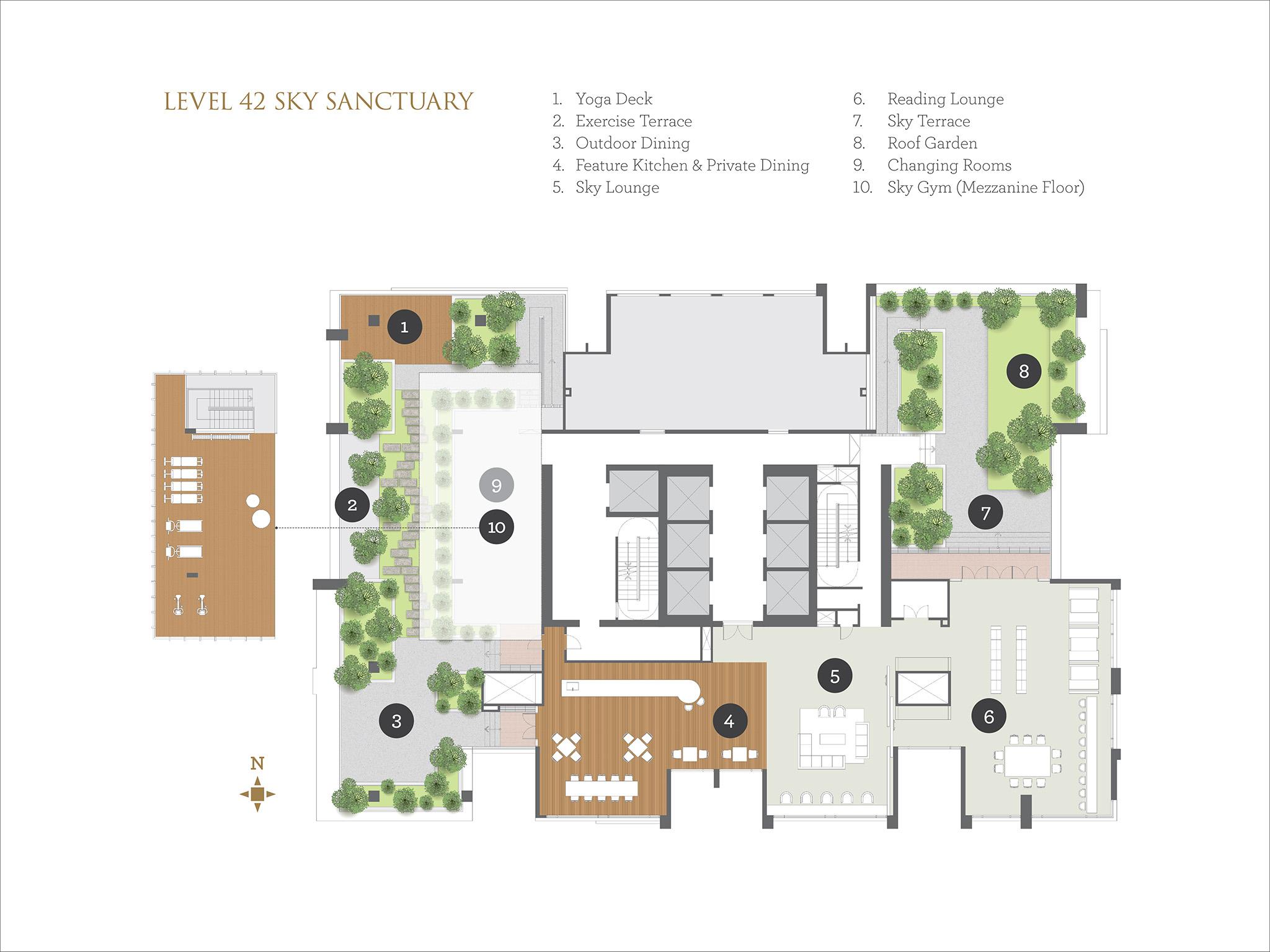 cyperus tropicana gardens property365 malaysia site plan
